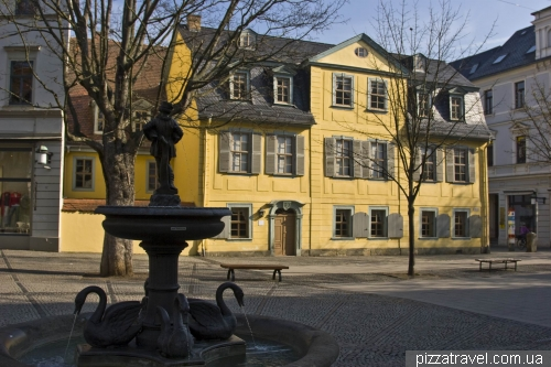Schiller's house and museum in Weimar
