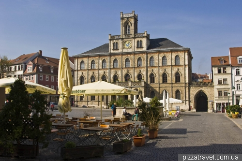 Market Square in Weimar