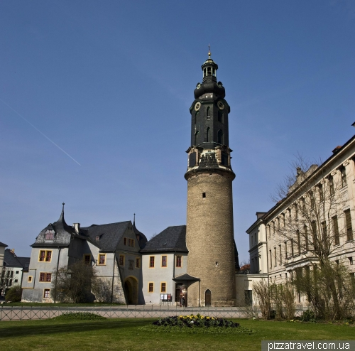City castle and palace in Weimar