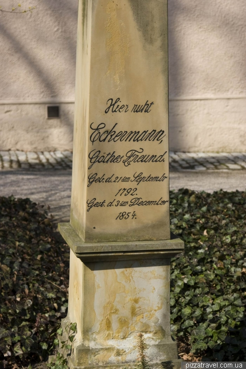 Historical cemetery in Weimar