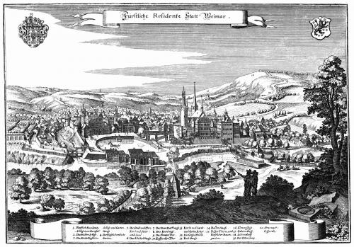 Ваймар. 1650 год