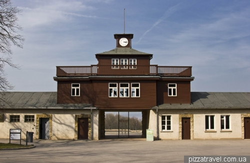 The Gate of the Buchenwald concentration camp