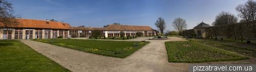 Оранжерея дворца Бельведер в Ваймаре
