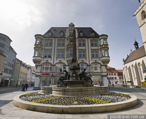 Улица Ангер в Эрфурте