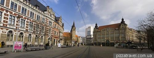 Anger Street in Erfurt