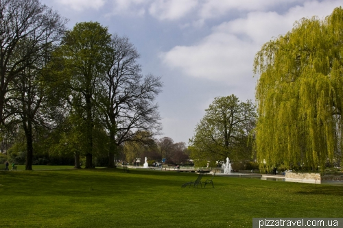 Парк ЭГА в Эрфурте