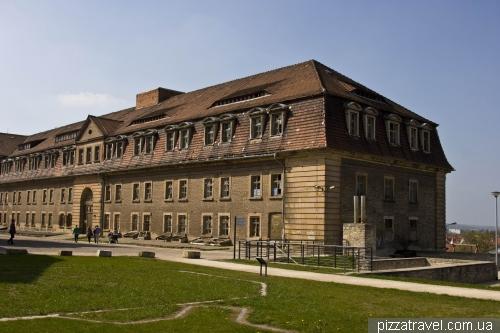Крепость Петерсберг в Эрфурте