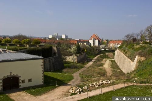 Фортеця Петерсберг в Ерфурті