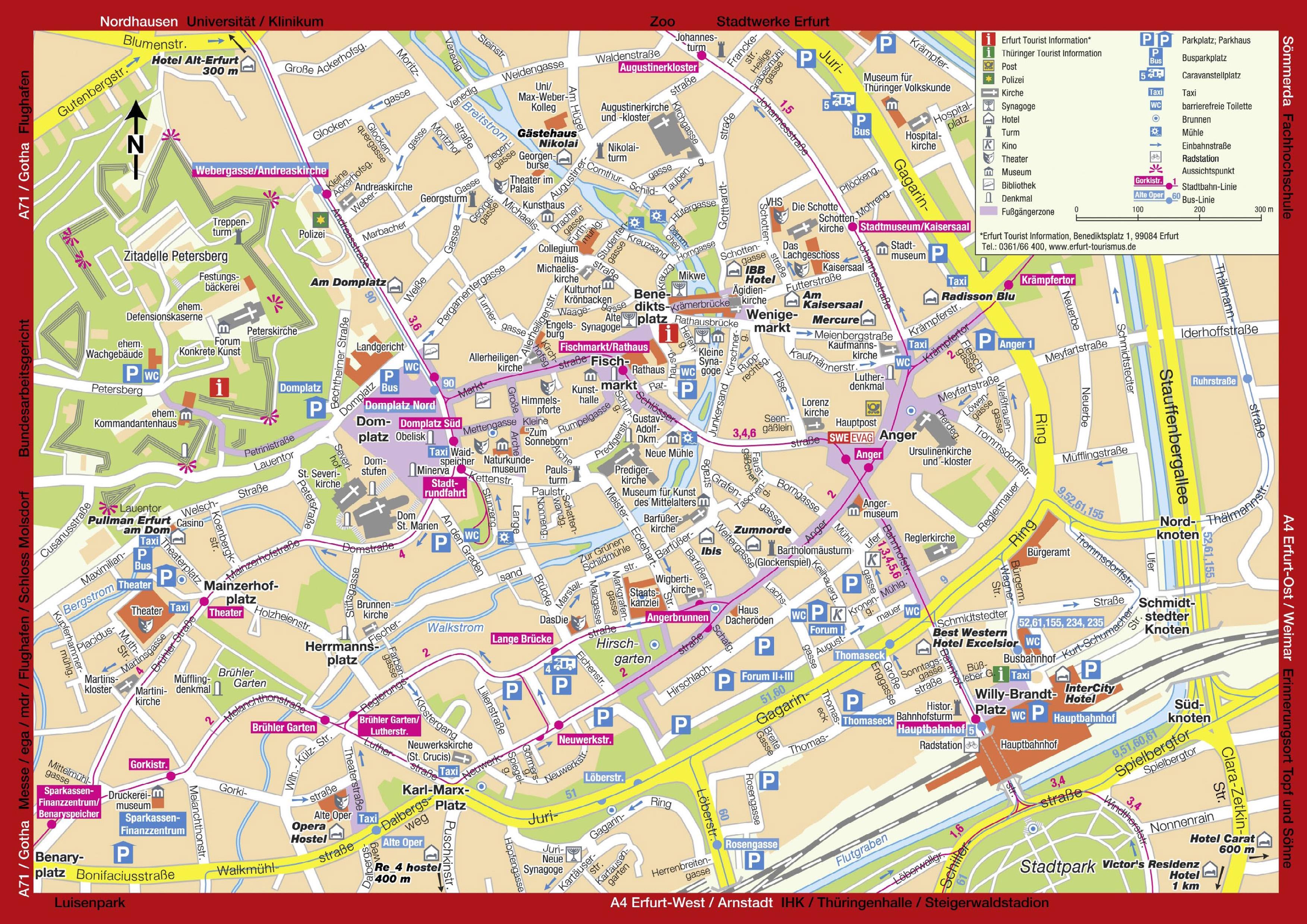 Erfurt Germany Pictures CitiesTipscom - Germany map erfurt