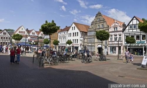 Рыночная площадь в Штадтхагене