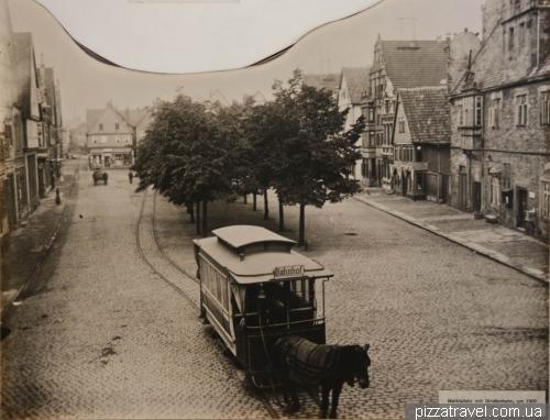 Раньше в Штадтхагене был трамвай