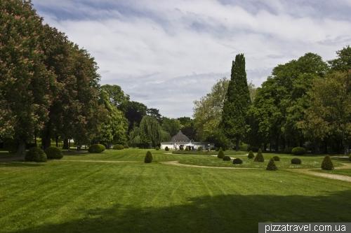 Парк около замка в Штадтхагене