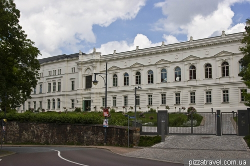Building of Leopoldina Academy in Halle