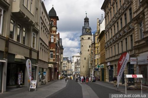 Лейпцигская улица в Халле