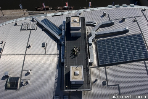 Roof of Climate Center