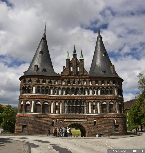 Holstein Gate in Lubeck