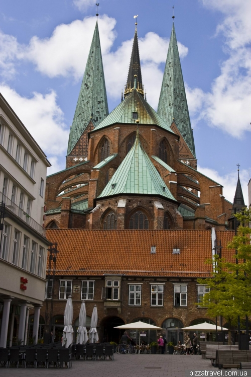 St. Mary's Church in Lübeck (Marienkirche)