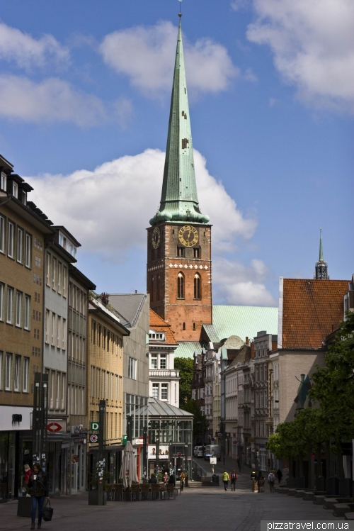 St. James Church in Lübeck