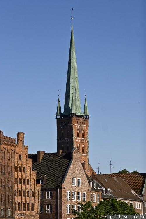 St. Peter's Cathedral in Lubeck