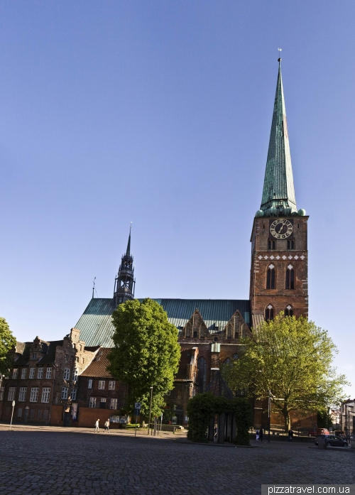 St. James Church in Lubeck