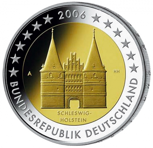The first coin in the series