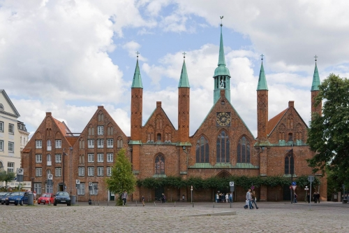 Holy Spirit Hospital in Luebeck (Heiligen-Geist-Hospital)