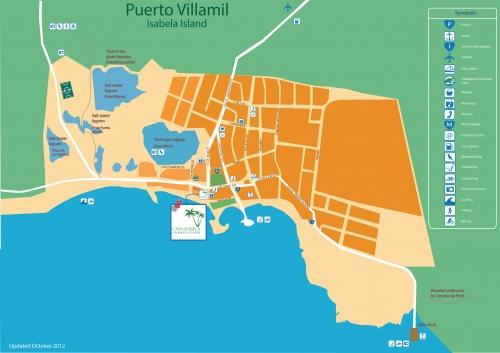 Карта Пуэрто Вильямиля