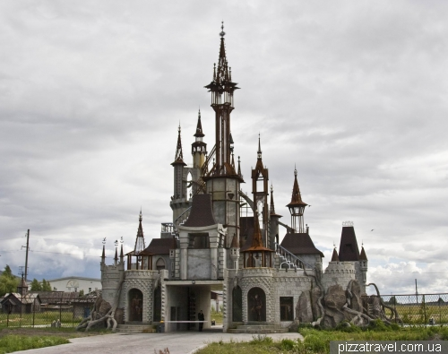 Fairytale castle near Kiev