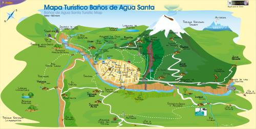 Туристическая карта Баньоса