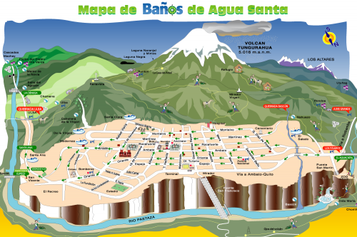 Карта Баньоса