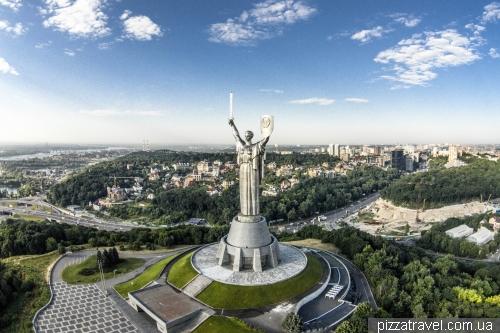 Statue of motherland