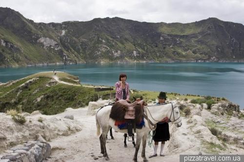 Вверх едем на лошадях