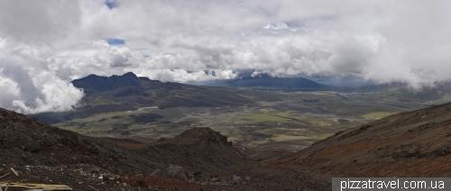 Вид на долину вулканов