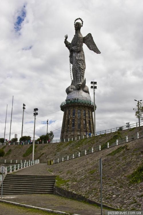 Статуя Девы Марии в Кито (Virgin of El Panecillo)