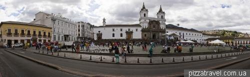 Plaza San Francisco in Quito