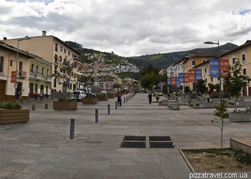 Ronda street in Quito (Calle de la Ronda)