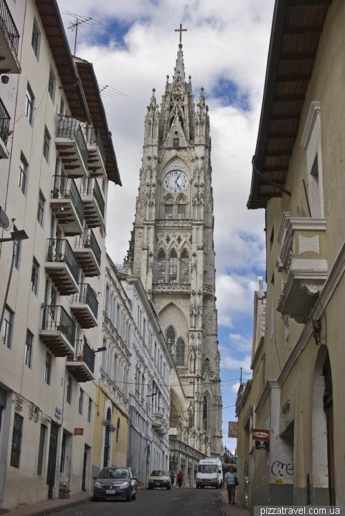 National cathedral (Basilica del Voto Nacional)