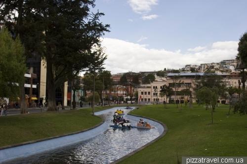 Alameda Park in Quito