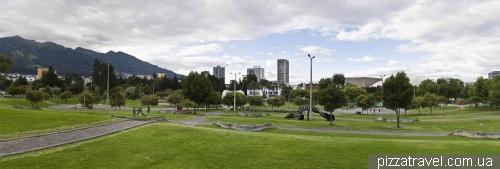 Arbolito Park in Quito