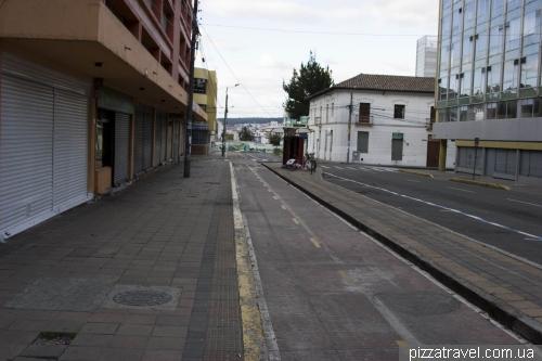 Bike Path in Quito