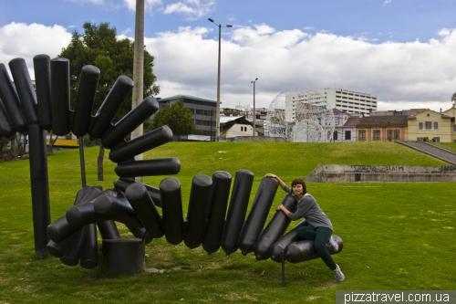 Парк Арболито в Кито