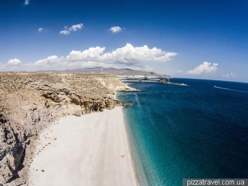 Лучший пляж Испании - Playa de los Muertos (