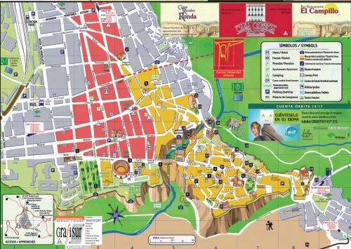 Карта Ронды