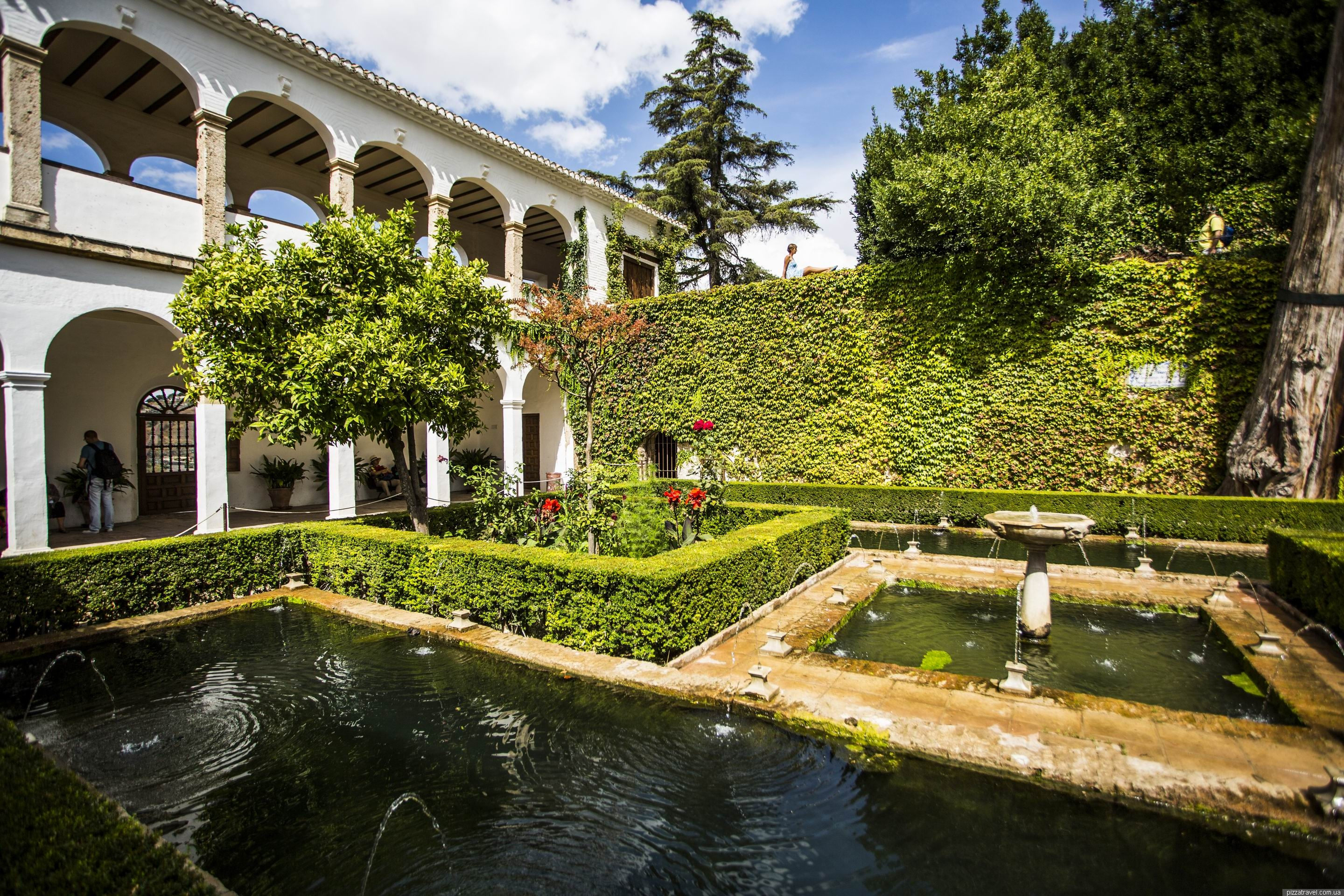 Granada spain blog about interesting places for Generalife gardens