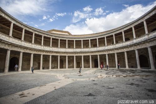 Palace of Carlos V at the Alhambra