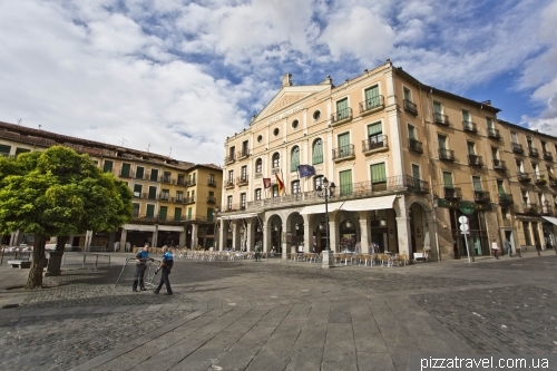 The main square in the old town Plaza Mayor