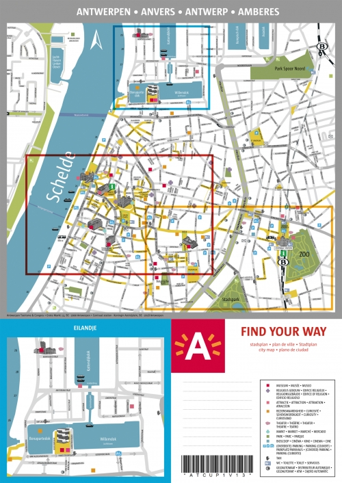 Map of Antwerpen