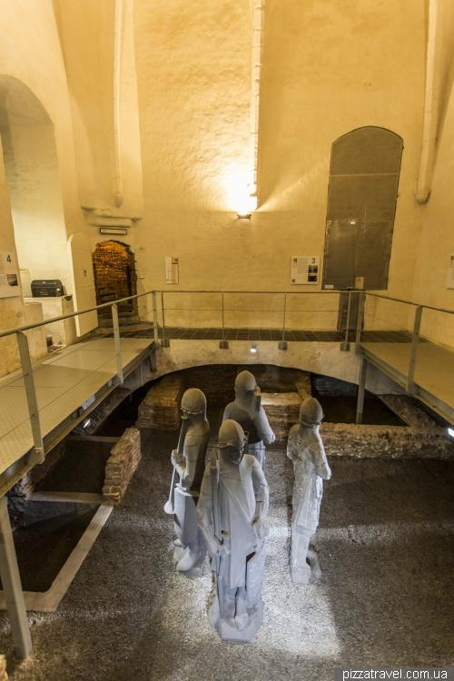 Секретная комната в башне Беффруа