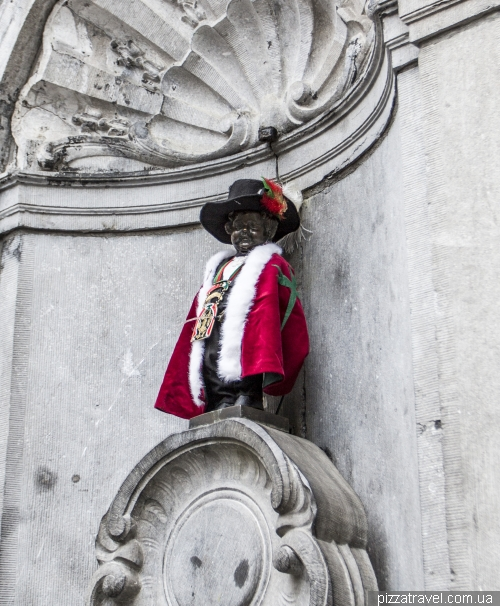 Manneken Pis in Brussels