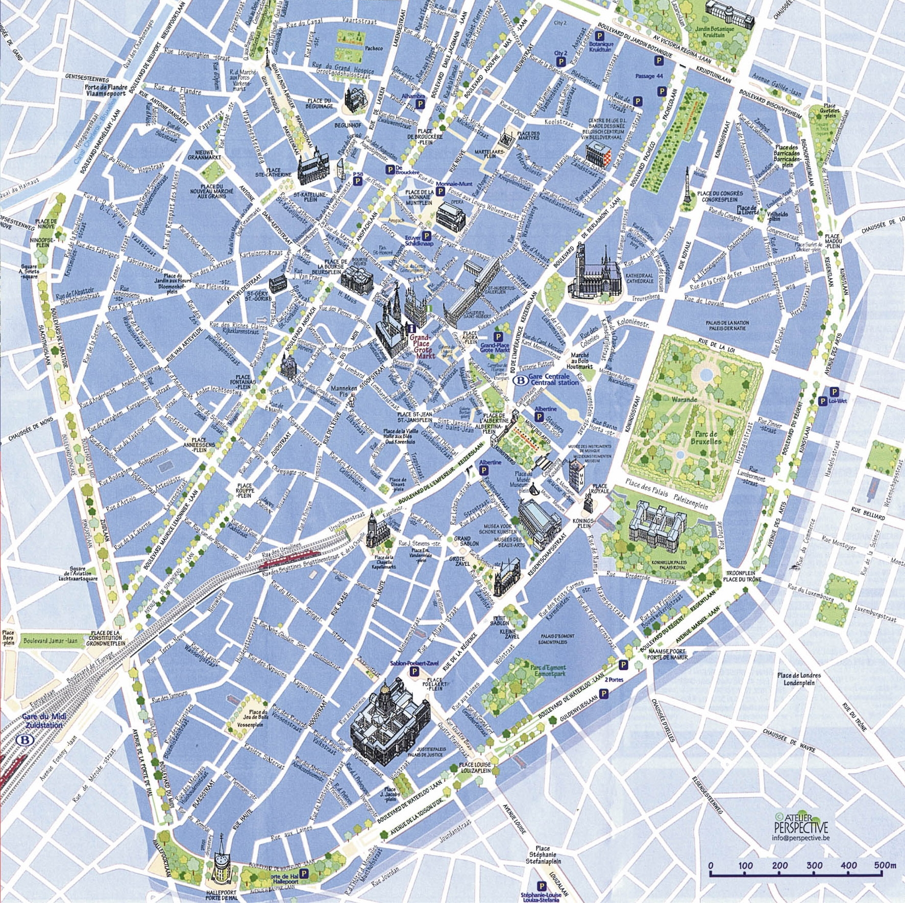 Train Stations In Brussels Map – Brussels Tourist Map